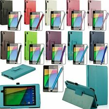 Google Nexus 7 2nd Gen (2013) Magnetic PU Leather Stand Smart Case Cover+Gifts