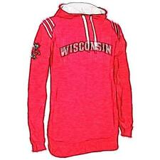 adidas College 3-Stripe Pullover Basketball Hoodie - Men's Wisconsin Badgers (U