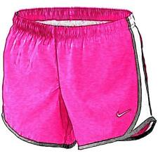 Nike Tempo Running Shorts - Girls' Primary School (Vivid Pink/White/Black/White)
