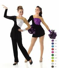 DYNAMITE Top/Dress/Tunic ONLY No Bottoms Baton Cheer Dance Costume Child & Adult