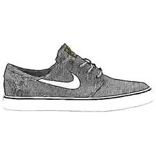 Nike SB Zoom Stefan Janoski - Men's Casual Shoes (BK/WT/Gum LT BN/Metallic GD W