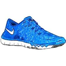 Nike Free Trainer 5.0 V6 - Men's Training Shoes (Game Royal/WT/BK Width:Medium)
