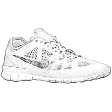 Nike Free 5.0 TR Fit 5 - Women's Training Shoes (WT/Pure Platinum/Metallic Silv