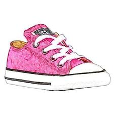 Converse All Star Ox - Girls' Toddler Basketball Shoes (Pink)