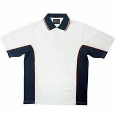 Mens Quick Dry Polo Shirt Sports Contrast Top Plus Size S - 3XL New | ROYAL