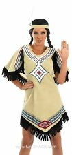 Adult Sexy Wild West Indian Scout Ladies Fancy Dress Costume Outfit