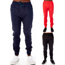 Mens Joggers Swag Basic Cuffed Sweatpants Fitted Classic Jogging Pants