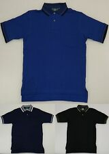 OUTER BANKS MEN'S POLO SHIRT WITH POCKET SIZE S SMALL BLUE, BLACK