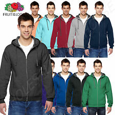 NEW Fruit of the Loom 7.2 oz Sofspun Full-Zip Hooded BIG SIZE Sweatshirt B-SF73R