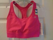 Champion Absolute Workout II Compression Sports Bra Pink Med Support Racerback