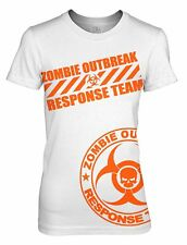 Proud - Zombie Outbreak Response Team T-Shirt Hunter Zombie Apocalypse Women Tee