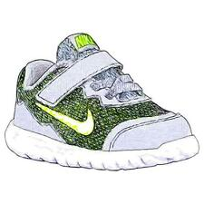 Nike Flex Experience 4 - Boys' Toddler Running Shoes (Wolf GY/DK GY/WT/Volt)
