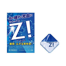 NEW ROHTO Z! Eye Drops Super Cooling Genuine Japan Mentholatum Relief Refresh