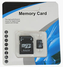 32GB 64GB 128GB 256GB Micro SD SDHC TF Flash Memory Card Class10 Free SD Adapter