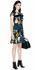 BNWT CUE Print Crepe Contrast Dress Sz 6 and 8 RRP$289