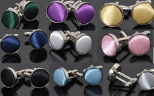 IXA C Vintage Stainless Steel Mens Wedding Party Gift Shirt Cuff Links Cufflinks