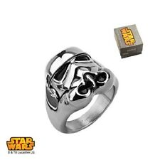 Star Wars 3D Storm Trooper Ring - Available Sizes: 9-12 Officially Licensed