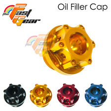 CNC Oil Filler Cap Plug with O-Ring Fit Suzuki GSXR 600 1992-2015