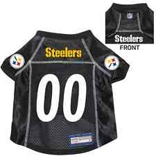 NEW PITTSBURGH STEELERS PET DOG PREMIUM NFL JERSEY w/NAME TAG ALL SIZES