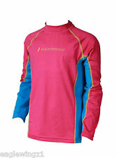 NEW Peak Performance Junior Pink Base Layer LS Top Sports Outdoors Ski RRP £35