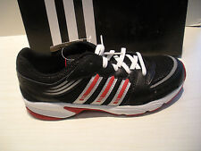 ADIDAS BOYS HYPER RUN 3 US K RUNNING SHOES- SNEAKERS- 910207 -BLACK /SILVER /RED