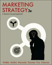 NEW Marketing Strategy by Orville C. Walker Paperback Book Free Shipping