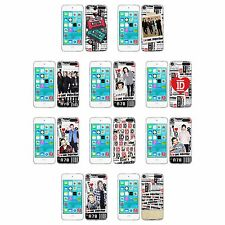 OFFICIAL ONE DIRECTION 1D TICKET LOVE SOFT GEL CASE FOR APPLE iPOD TOUCH MP3