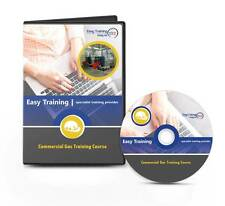 Plumbing Course - Plumbing Commercial Gas Training Learning Course CD Rom