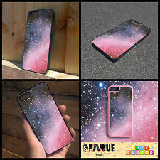 SPACE GALAXY HIPSTER TUMBLR PINK For iPhone Samsung HTC Hard/Rubber Case Cover