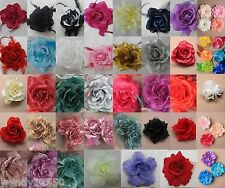 FABRIC FLOWER, FEATHER, LACE, HAIR BEAK CLIPS, BROOCH, CORSAGE FASCINATOR