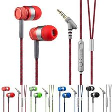 3.5mm In-Ear Stereo Earbuds Headphone Earphone Headset With MIC for Cell Phone