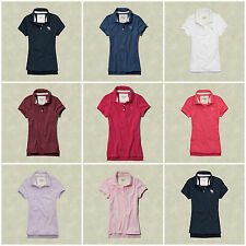 New Abercrombie & Fitch Women's Polo Shirt Size XS, S, M, L