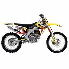 Suzuki EVO 13 Shroud Graphic Decals Wrap Kit Factory Effex Motocross Dirt Bike