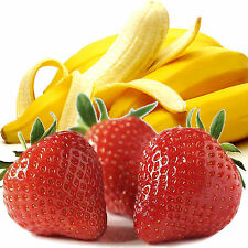 STRAWBERRY BANANAS Bath Body & Massage Oil EXTRA STRONG TRIPLE SCENTED