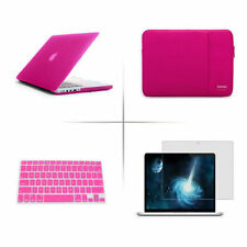screen protector keyboard cover sleeve bag hard case for Apple macbook Pro Air