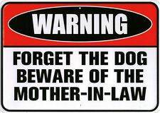 New Warning! Beware Of The Mother In Law Metal Tin Sign
