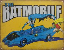 Batman The Batmobile Tin Sign 41.5x32cm