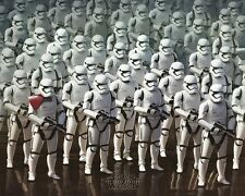 Star Wars Episode VII The Force Awakens Stormtrooper Army Mini Poster 50x40cm