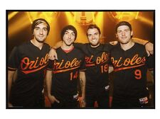 New Gloss Black Framed All Time Low A Love Like War Poster