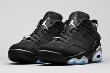 Air Jordan 6 VI Retro Low BG Black Metallic Silver White chrome 768881-003
