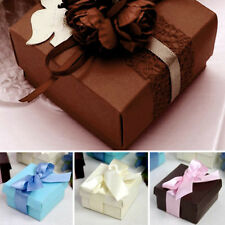 "200 2.5x2.5x1.5"" Wedding Favors Gift BOXES with Removable Top Lid Party Supplies"