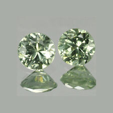 2mm Lot 2,50,100pcs Round Cut Accent Stone Natural Green SAPPHIRE