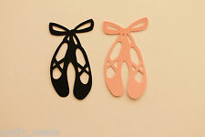 30 PC - Ballerina Dance SHOES Silhouette Die Cuts  Scrapbooking