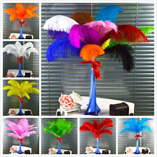 "10-100pcs High Quality Natural OSTRICH FEATHERS 14-16"" Inch Weddings birthdays"