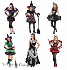 Girls Teen Tween Halloween Fancy Dress Costumes Dress Up  Zombie Witch Devil Bat