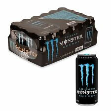 Monster Lo Carb Energy Drink (16 oz. cans, 24 pk.), Diet drinks, 070847, NEW