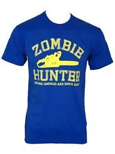 Zombie Hunter Varsity Blue Men's T-Shirt