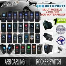 Rocker Toggle Switch ARB Carling NARVA Style LED light 12V 24V Waterproof Boats