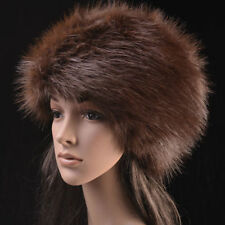 Posh Hight Quality Faux  Fox  Fur Warm Glamour Ski Hat for Winter,