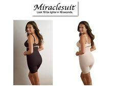 Miraclesuit Shape Away High Waist Thigh Slimmer 2919 In Black Or Nude